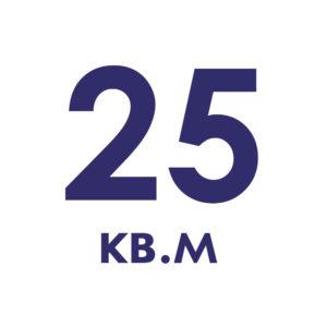до 25 кв.м